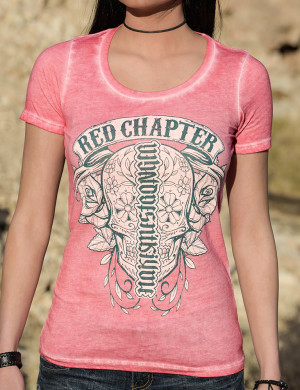 Dámské tričko Red Chapter Co mě nezabije
