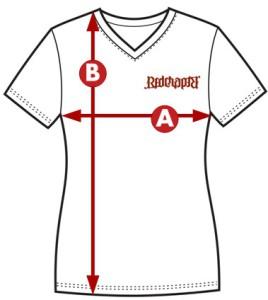 Red Chapter velikost tričko krátký rukáv