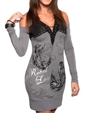 Dámské šaty Rebel Spirit Rebel Love