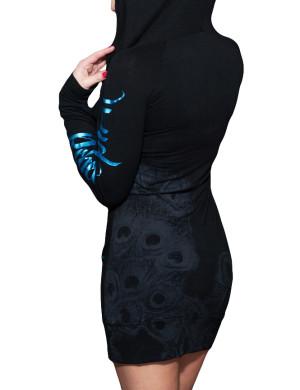 Dámské šaty Rebel Spirit vznešený páv