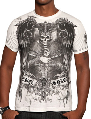 Pánské tričko Rebel Spirit král zla