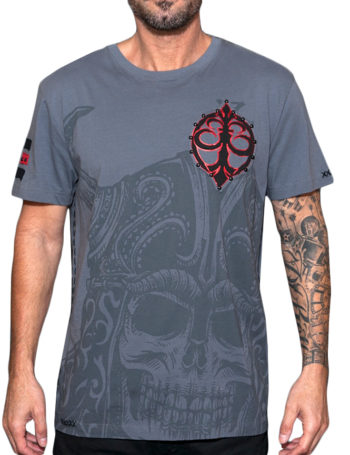 Pánské tričko Rebel Spirit démon s přilbou