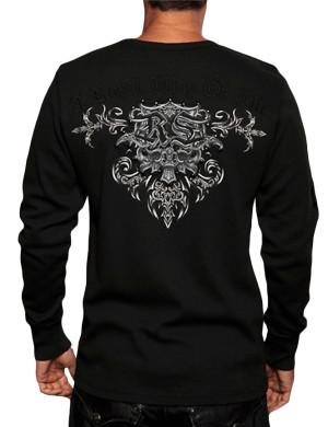 Pánské tričko Rebel Spirit hřejivé vzlétající Fénix