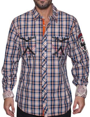 Pánská košile Rebel Spirit kostka Rebels