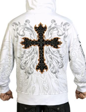 Pánská mikina Rebel Spirit ozdobný kříž