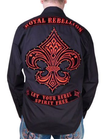 "Pánská košile Rebel Spirit ""Royal Rebellion"""
