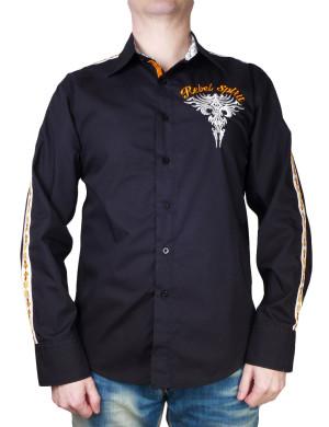Pánská košile Rebel Spirit královská lilie v plamenech