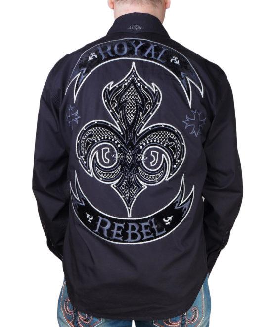 ... Pánská košile Rebel Spirit Royal Rebel (stříbrný) 628a67f405