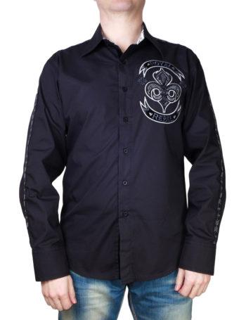 Pánská košile Rebel Spirit Royal Rebel (stříbrný)