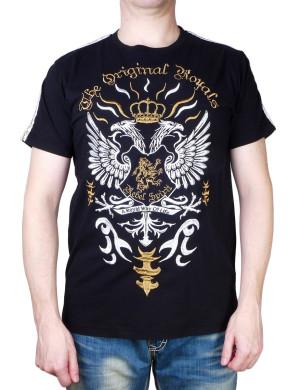 "Pánské tričko Rebel Spirit ""The Original Royals"" (zlatá)"