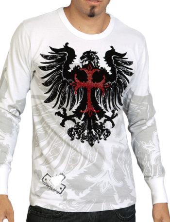 Pánské tričko Rebel Spirit orlice (hřejivé)