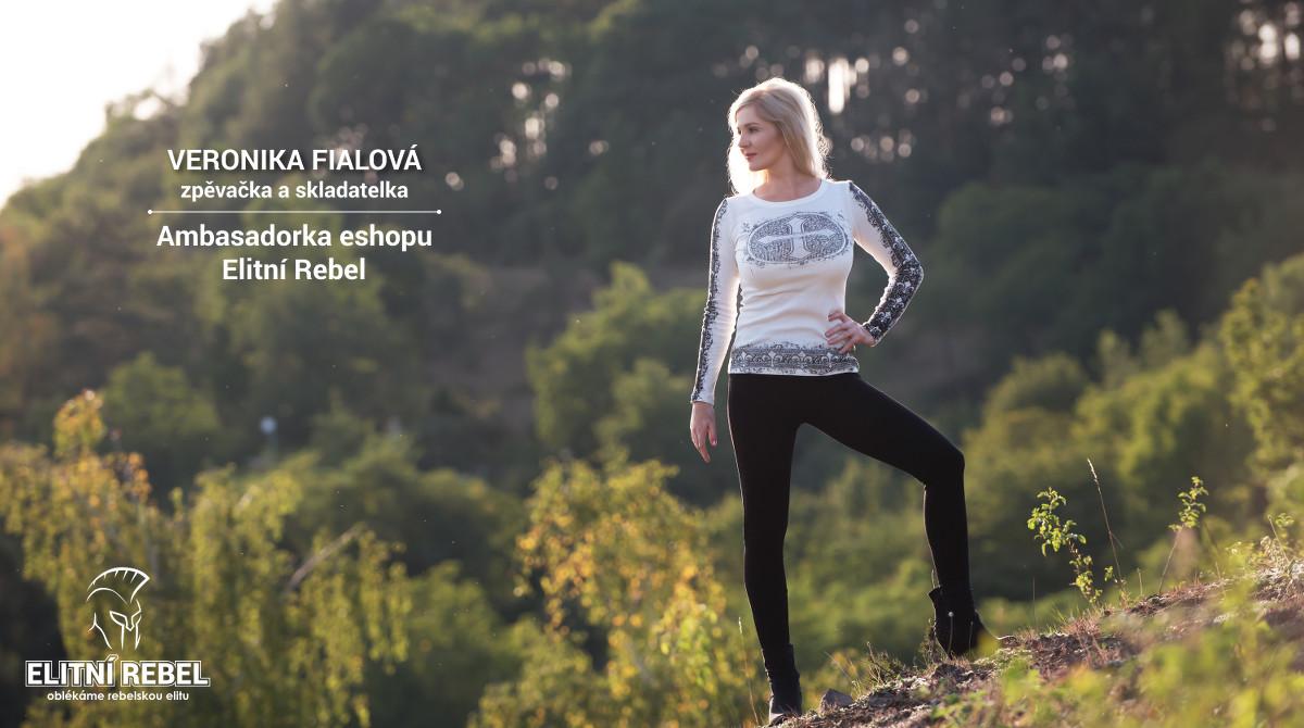 Veronika Fialová zpěvačka a skladatelka Ambsasadorka eshopu Elitní Rebel