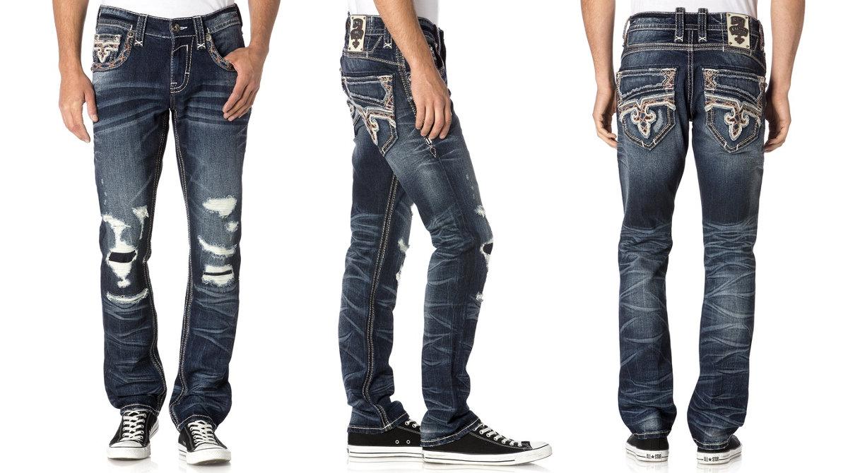 Rock Revival roztrhané džíny