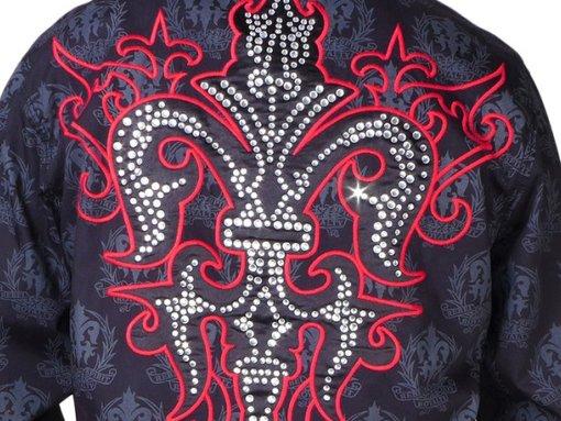 VIDEO - Pánská černá košile Rebel Spirit královský diamant ... 80a41906eb