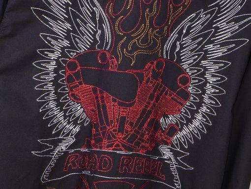 Pánská motorkářská košile Rebel Spirit Road Rebel | Luxusní dárek