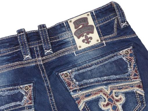 Pánské džíny Rock Revival Adain A202 Alt Straight Cut Jean