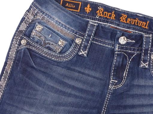 Dámské džíny Rock Revival Allie S200 Skinny Cut Jean