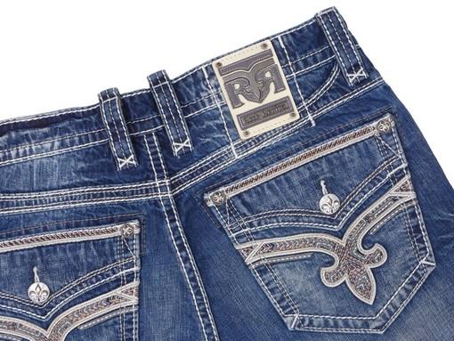Pánské džíny Rock Revival Chatwin J200 Straight Cut Jean