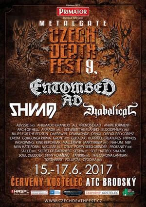 MetalGate Czech Death Fest 9