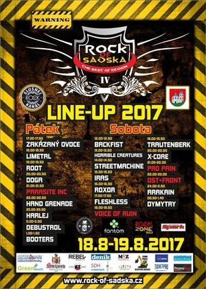 Rock of Sadská 2017