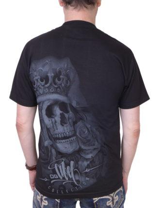 Pánské tričko OG Abel A0193-BLK Suicide King