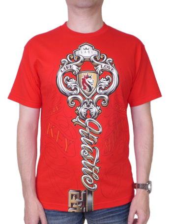 Pánské tričko OG Abel A0305-R-RED Hustke Key