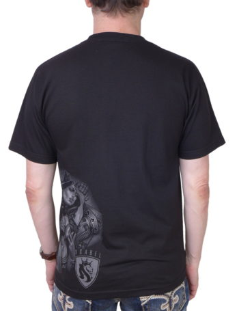 Pánské tričko OG Abel A0391-BLK Playcards