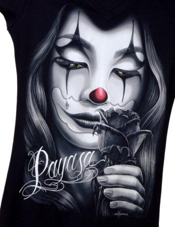 Dámské tričko DG Angels Payasa DGA001-BLK
