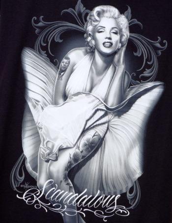Dámské tričko DG Angels Scandalous DGA005-BLK