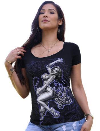 Dámské tričko OG Abel YGS044-BLK