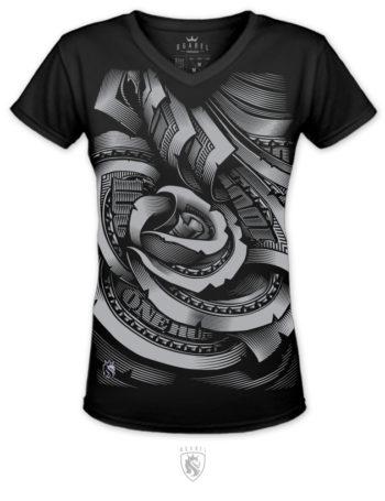 Dámské tričko OG Abel MOney Rose YGV037-BLK