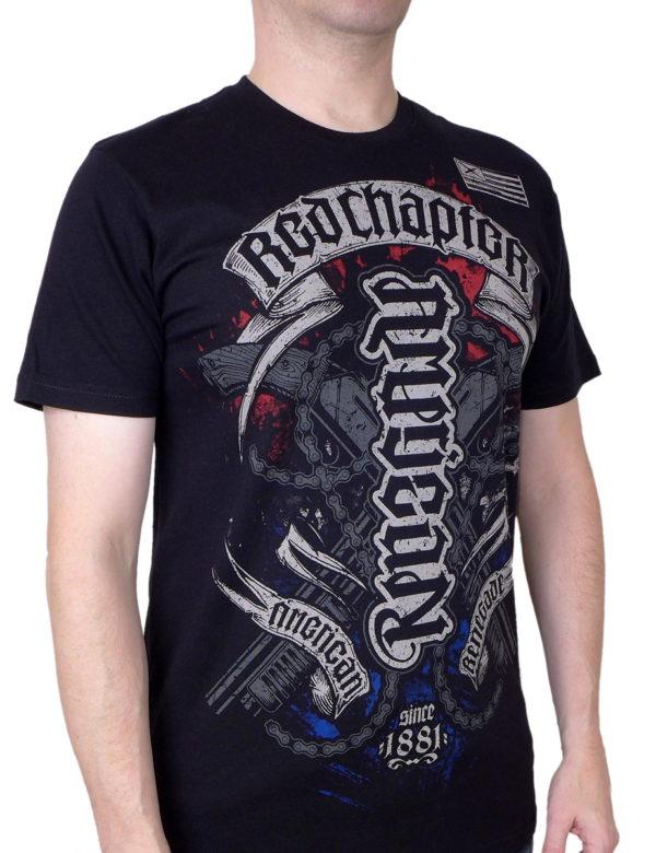 Pánské tričko Red Chapter American-Renegade 1123BLK