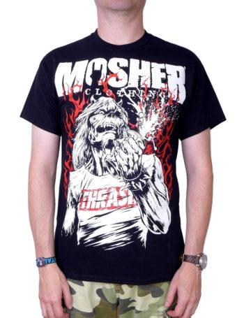 Pánské tričko Mosher Pete MOC002-BLK