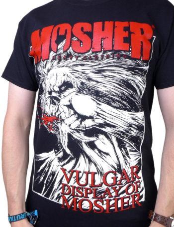 Pánské tričko Vulgar Display of Moshery MOC005-BLK