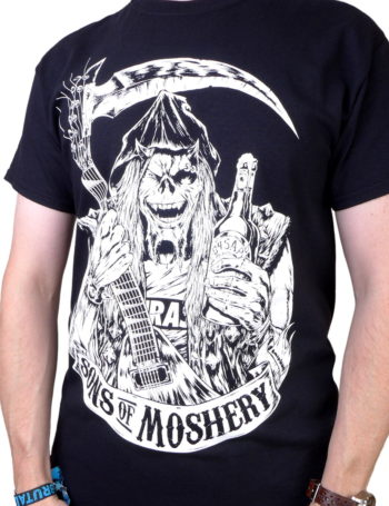 Pánské tričko Sons of Moshery MOC006-BLK