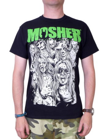 Pánské tričko The Moshin' Dead MOC008-BLK