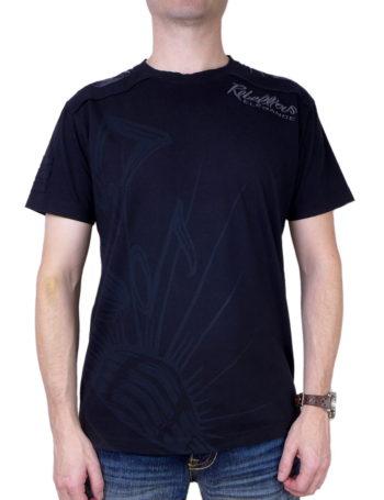 Pánské tričko Rebel Spirit Rebellious Elegence SSK111180-BLK