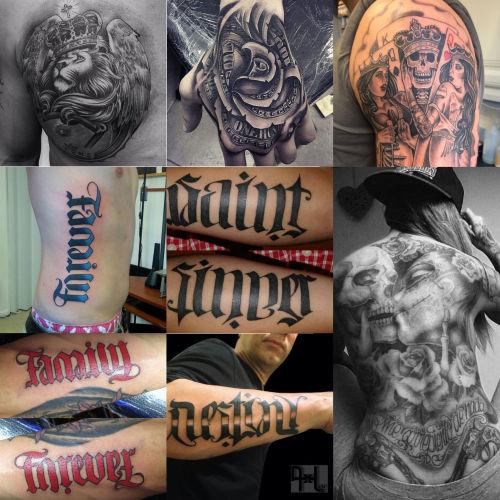 Motivy tetování