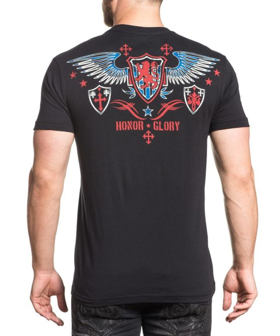 ... Pánské tričko Xtreme Couture Fight or Flight X1657-BK 893ef035a2