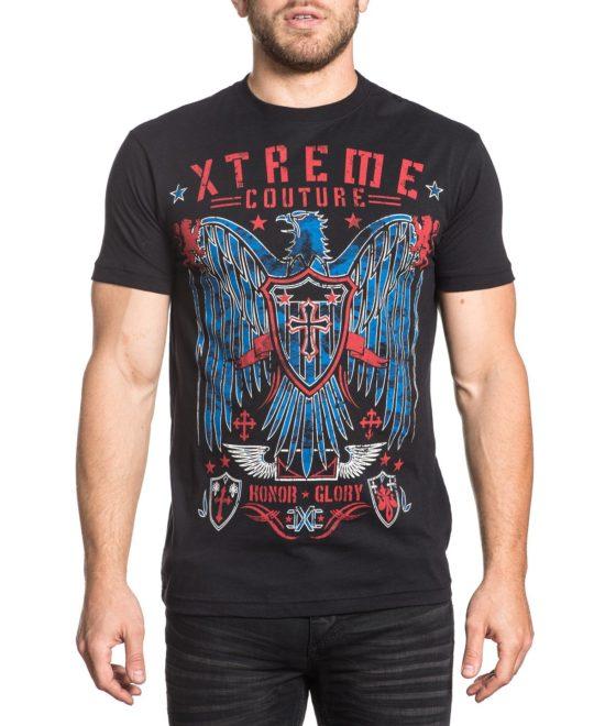 Pánské tričko Xtreme Couture Fight or Flight X1657-BK ... 129820a7e6