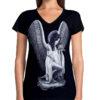 Dámské tričko DG Angels Guardian Angel DGA007-BLK
