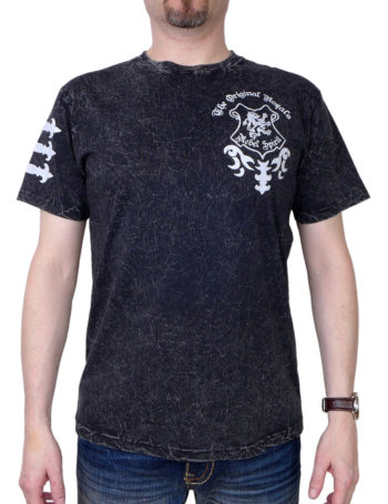Pánské tričko Rebel Spirit The Original Royals (stříbrné) SSK151765-BLK