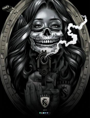 Plakát OG Abel Bandit Girl PST041