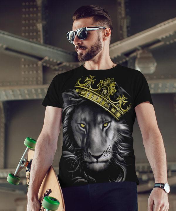Pánské tričko OG Abel Fierce Lion