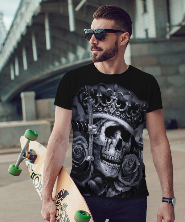 Pánské tričko OG Abel Suicide King