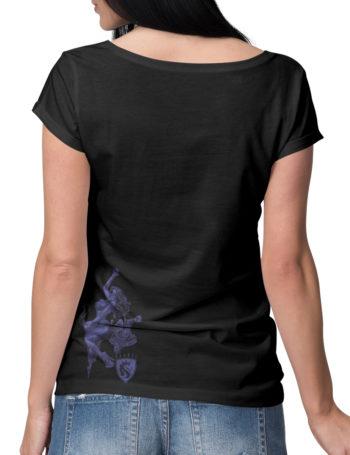 Dámské tričko OG Abel Tattoo Rider YGS044-BLK