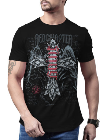 Pánské tričko Red Chapter Saint / Sinner COR1176-BLK