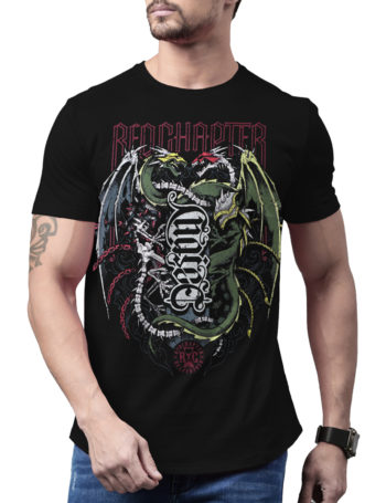 Pánské tričko Red Chapter Choice / Destiny COR1183-BLK