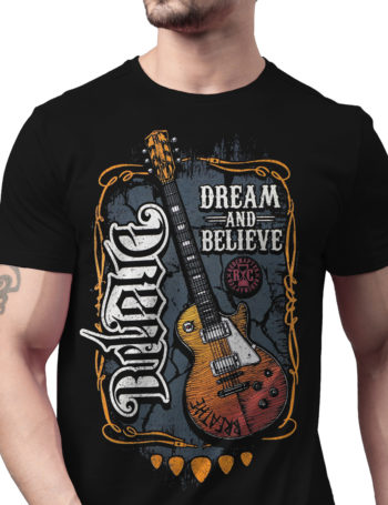 Pánské tričko Red Chapter Dream / Believe COR1187-BLK