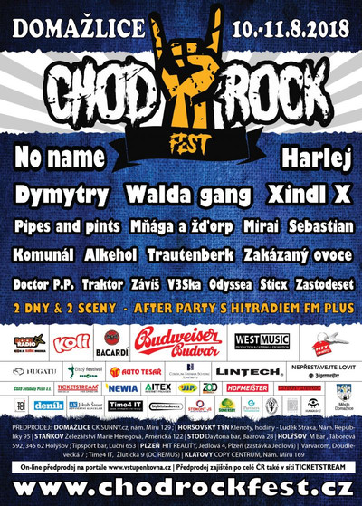 Chodrockfest 2018